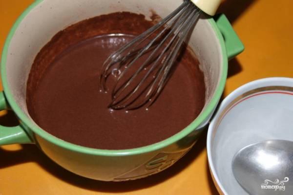 Как сделать шоколадную глазурь из какао порошка