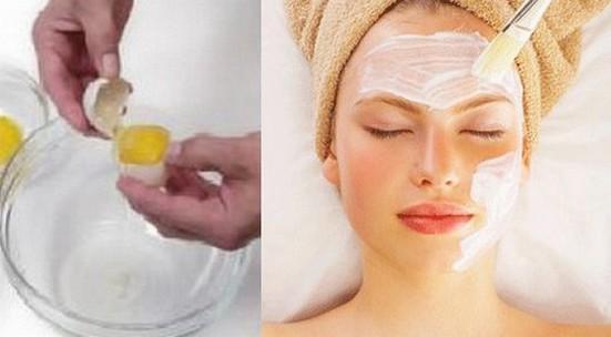 Как сделать маску для лица из белка