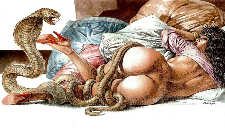 Змей Секс Рассказ