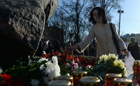 На Лубянке идет акция памяти жертв сталинских репрессий