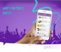В Viber появились публичные чаты со звездами