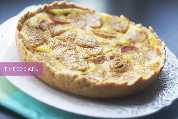Рецепт пирога с яблоками в мультиварке редмонд
