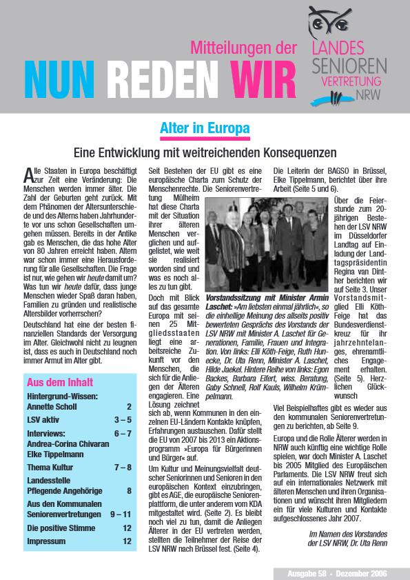 Neue Wege schaffen Neue ChaNceN NutzeN - PDF