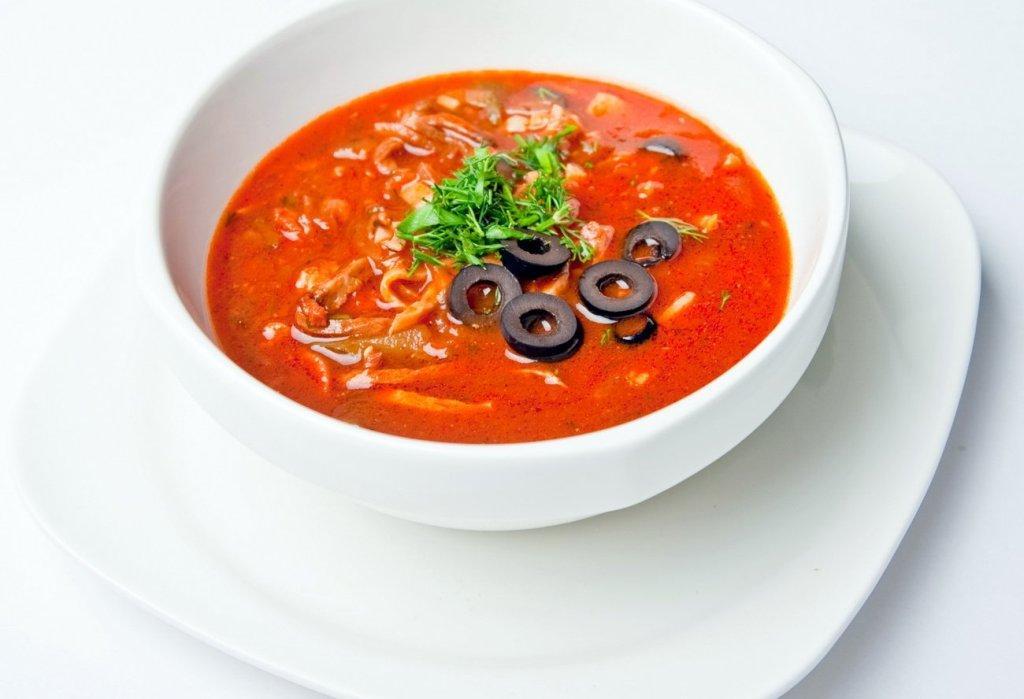 суп солянка мясная сборная рецепт классический фото