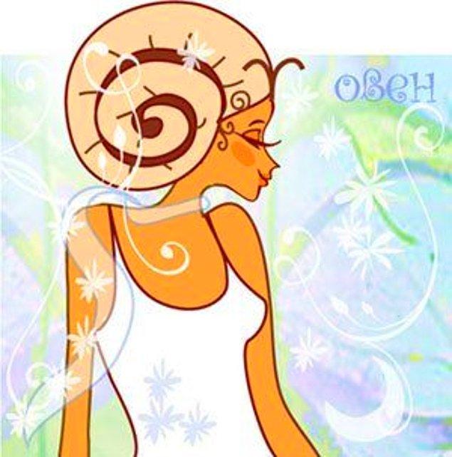 Овен женщи  цвет по гороскопу