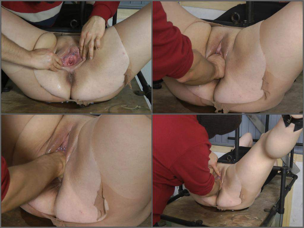 Son blackmail mom anal first