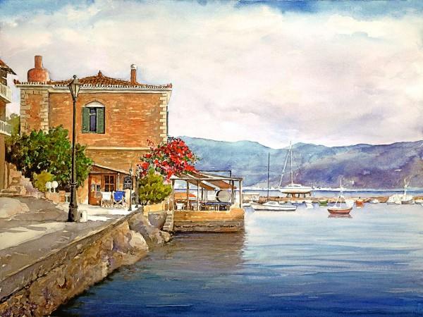 Дом в остров Пирей недорого у моря