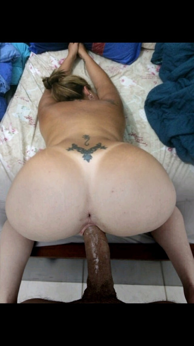 Black creampied pussy tube