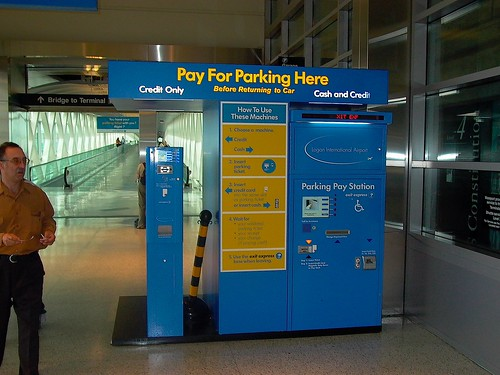 Boston logan economy parking