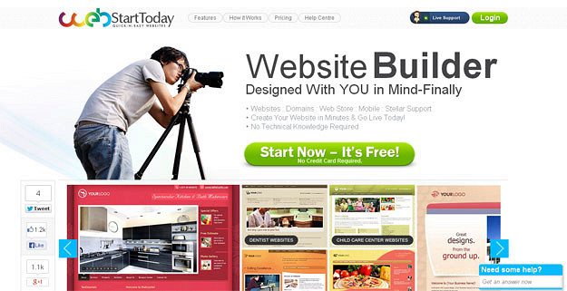 Best website builder for dating site