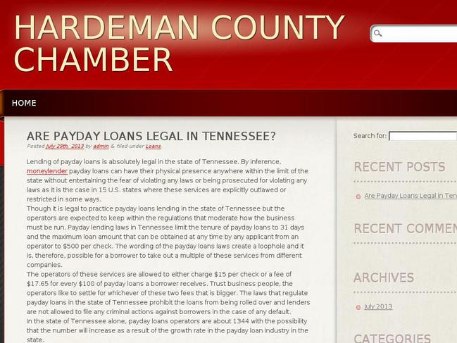 Delaware payday lending laws