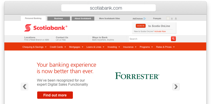 Scotiabank financial history quizlet examples
