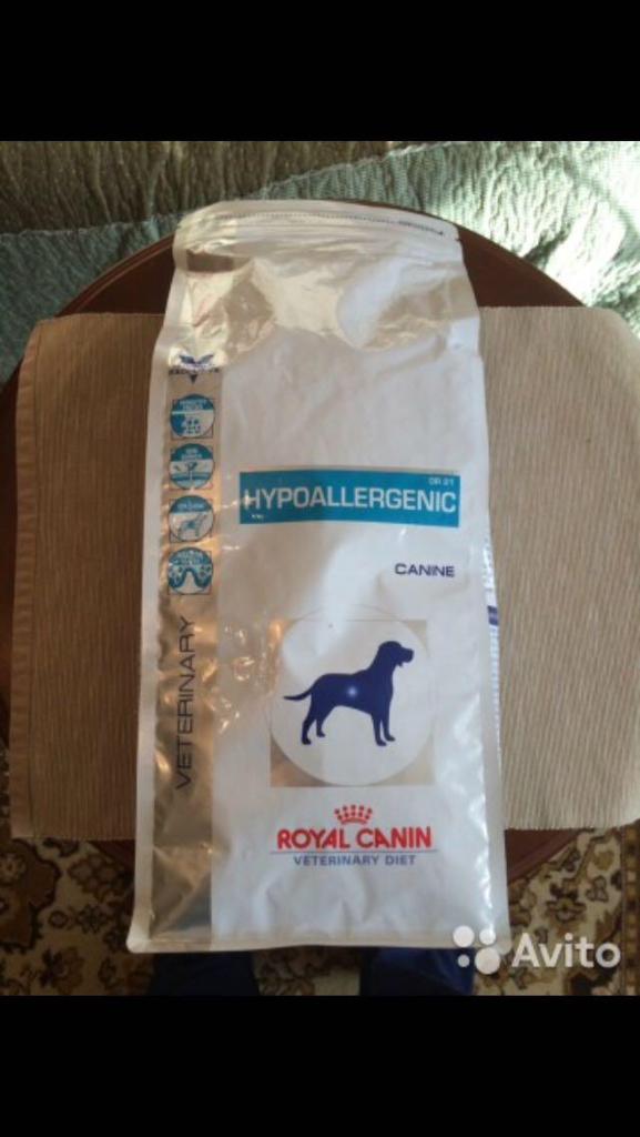 Корм royal canin hypoallergenic dogs