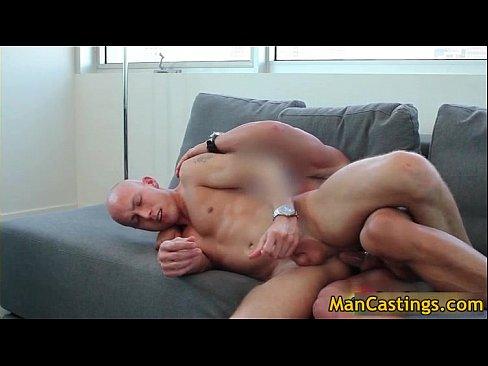 Fake tits anal creampie