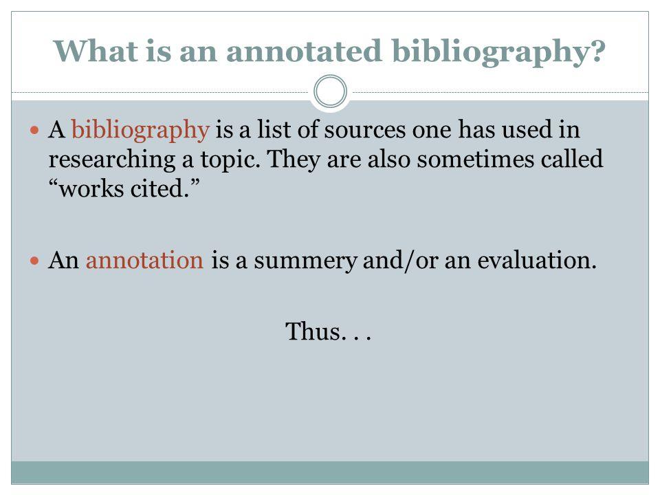 Write my an annotation
