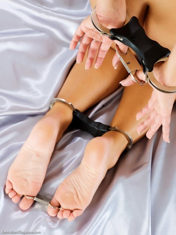Strap on man bondage
