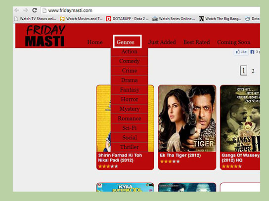 +1} Sites to Watch Online Hindi Movies for Free
