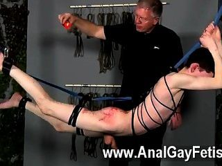Lesbian tied down squirt