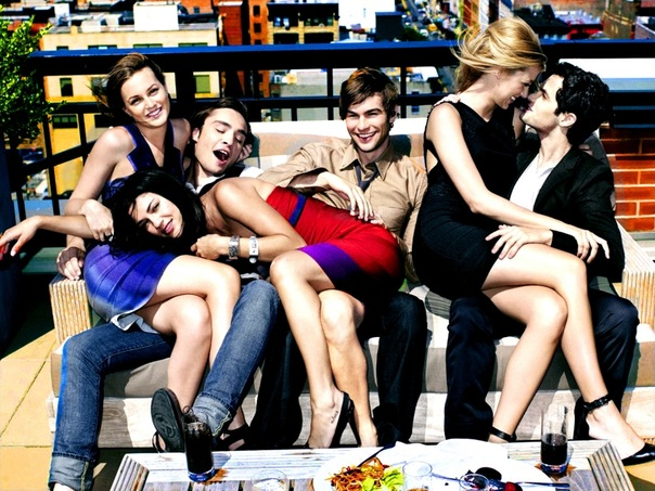 Gossip girl cast dating each other