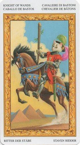 Рыцарь Жезлов Таро: значение