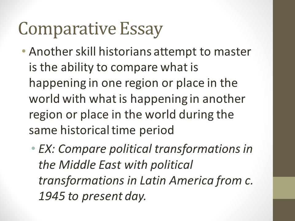 Comparative politics essay
