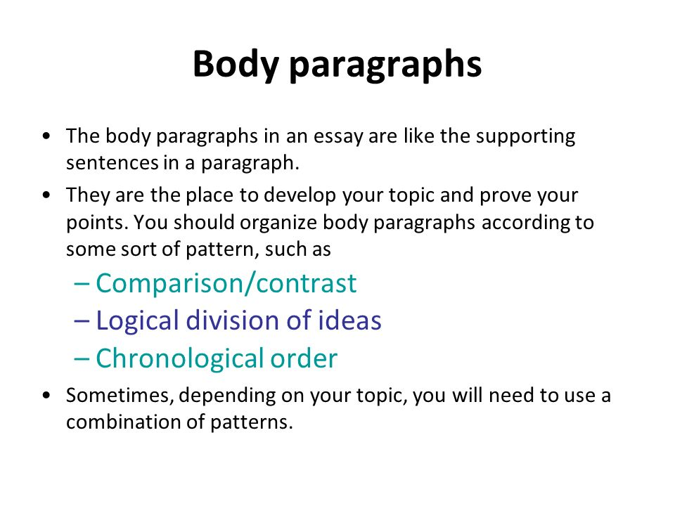 Comparison and contrast essay - Free Essay Writing Tips