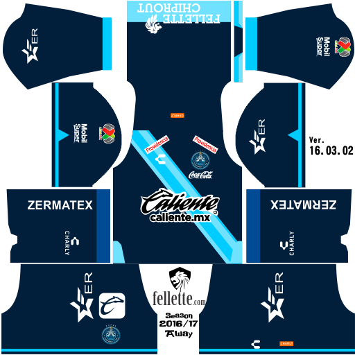 Report 2016-17, PUEBLA AWAY 2016-17 (512x512)