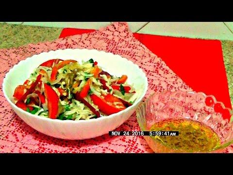 Простые рецепты салатов быстро и легко