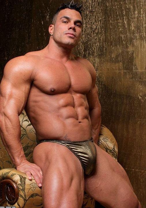Muscle sex man