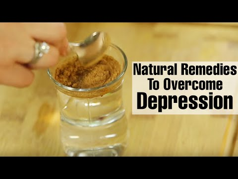 How to naturally overcome depression