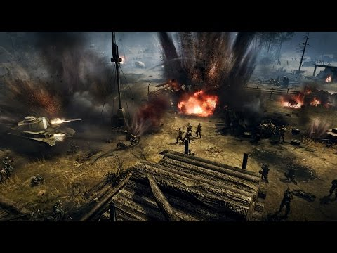 Company of Heroes 2 - Erster Multiplayer-Trailer - YouTube