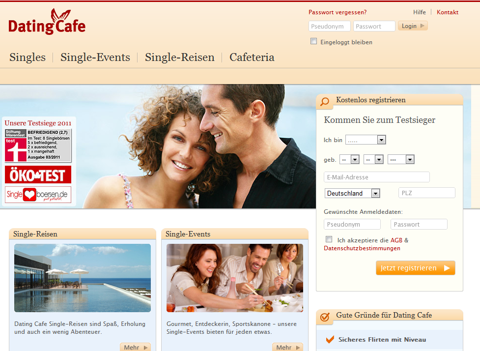 Free Online Dating in Germany - Germany Singles