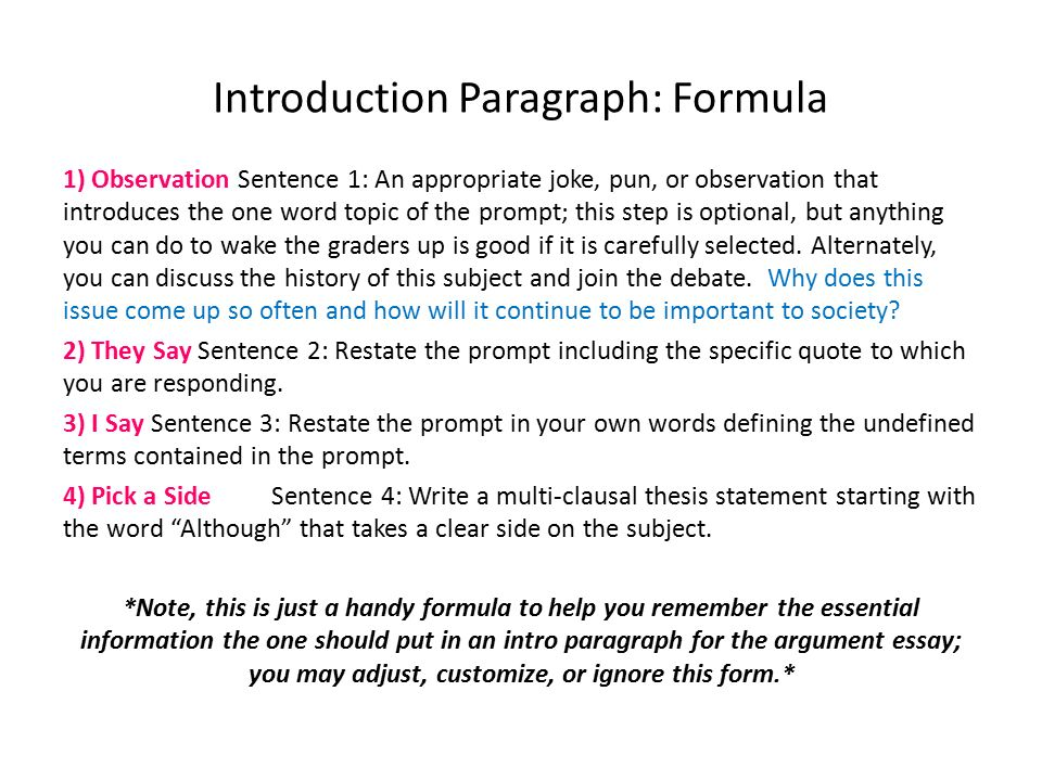 Write my introduction argumentative essay example