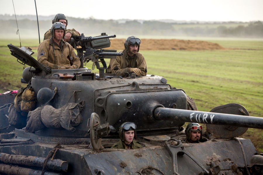 Movie Review: Fury -- Vulture