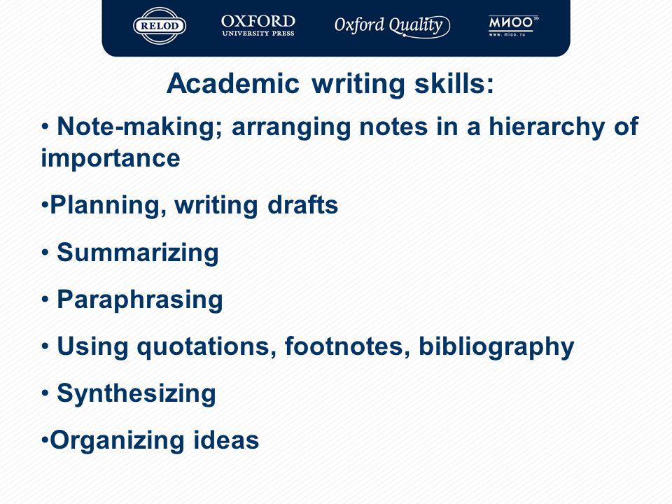 Importance of writing essays