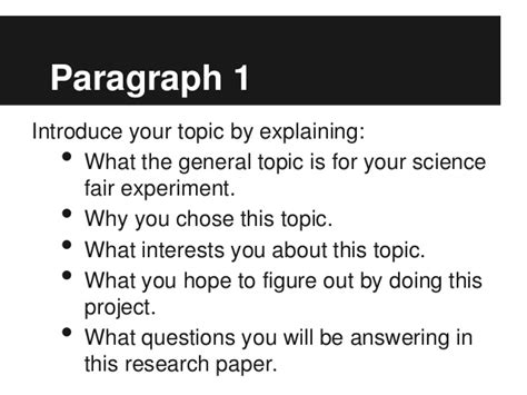Write my scientific report introduction