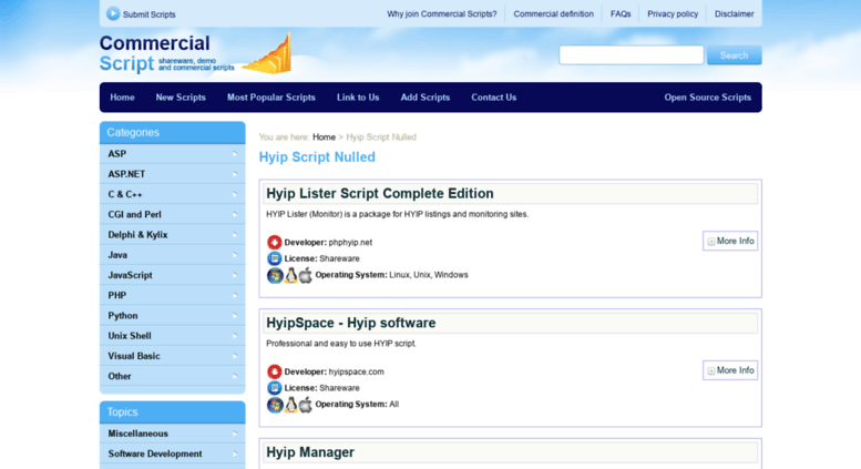 Hyip monitor script nulled