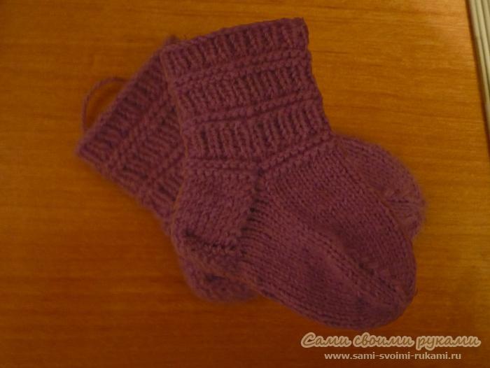 вязание для малышей регланом с горловины