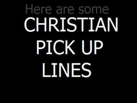 Christian dating pickup lines