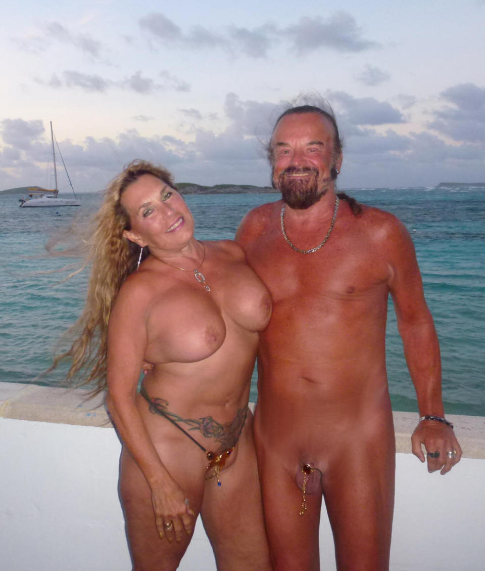 Real Amature Nudist Couples Vacation Photo - Other-9956