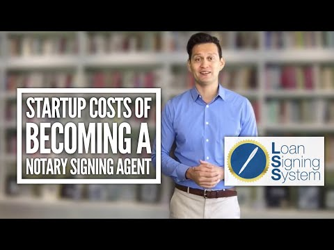 Mobile loan signing agent