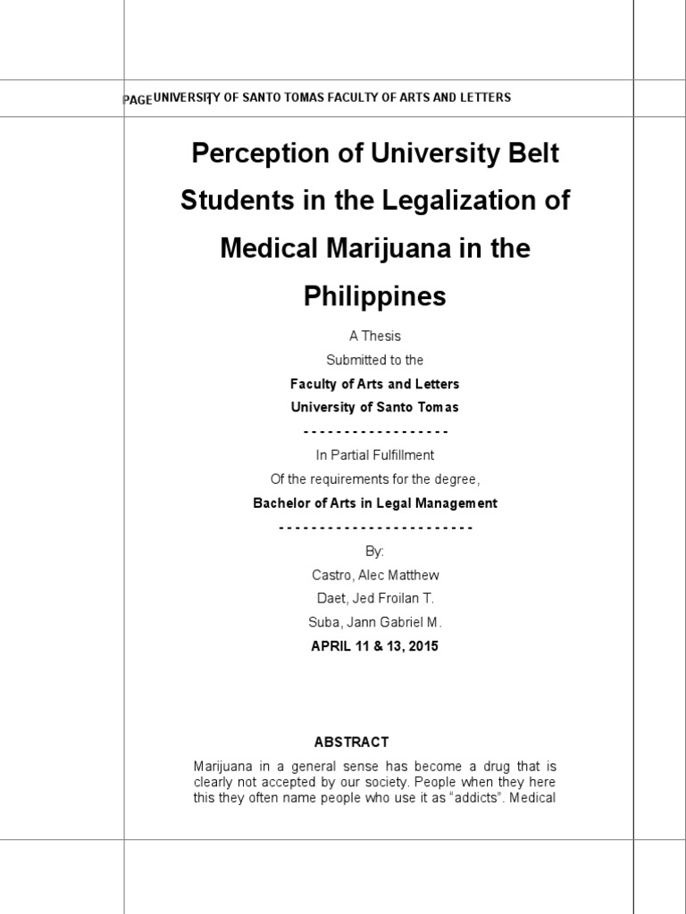 Write my medical cannabis research paper