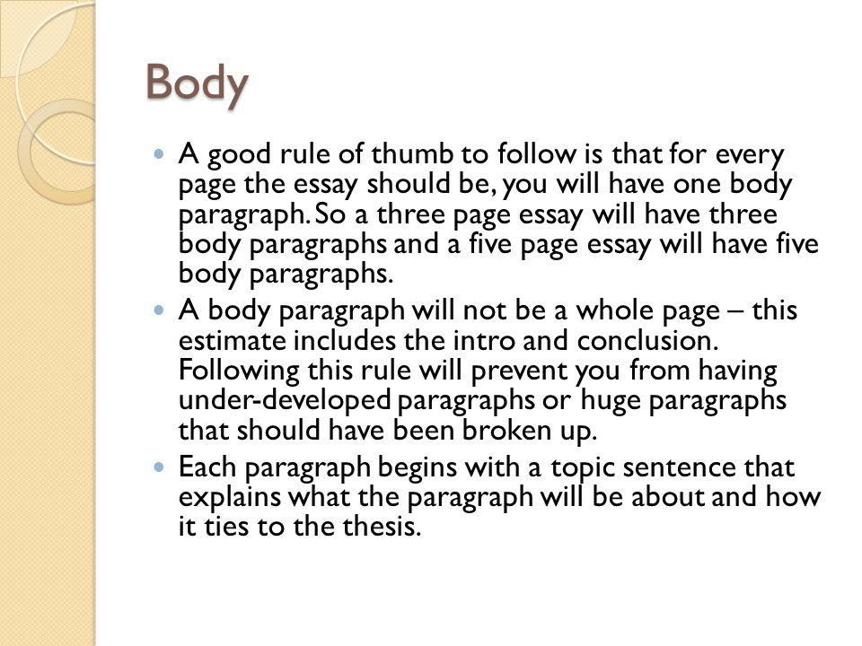 Write my how to outline a 5 paragraph essay