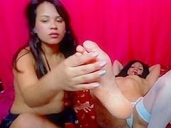 Redhead lesbian squirting porn