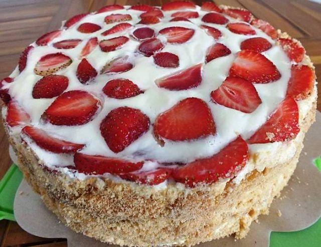 Фото домашний торт