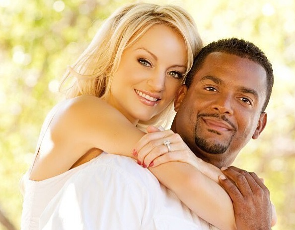 Tips white man dating black woman