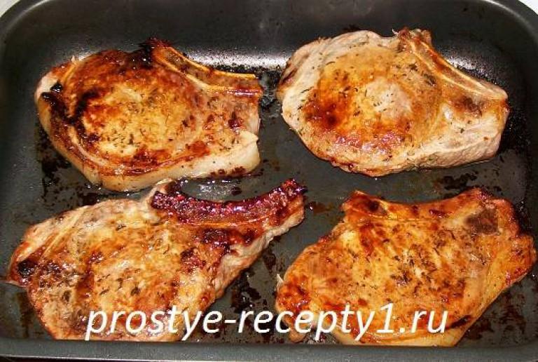 свинина в духовке пошаговый рецепт с фото