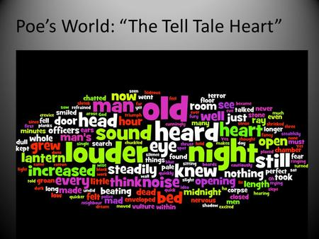 The Tell-Tale Heart - American English