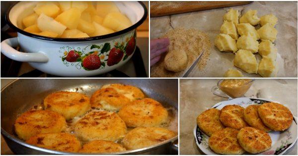 Рецепт быстрого блюда из картофеля