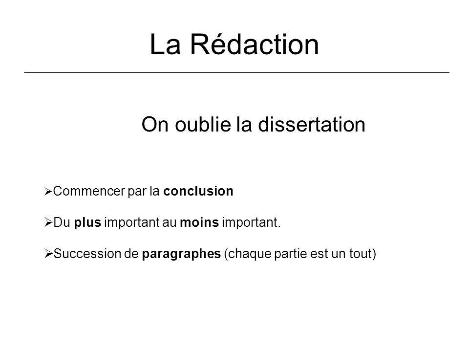 Conclusion de dissertation de philosophie